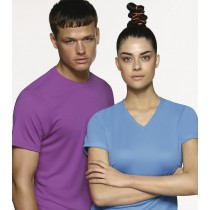 Damen-V-Shirt COOLMAX®