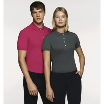 Damen-Poloshirt Stretch